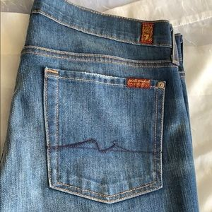 7 For All Mankind Jeans size 31 Bootleg